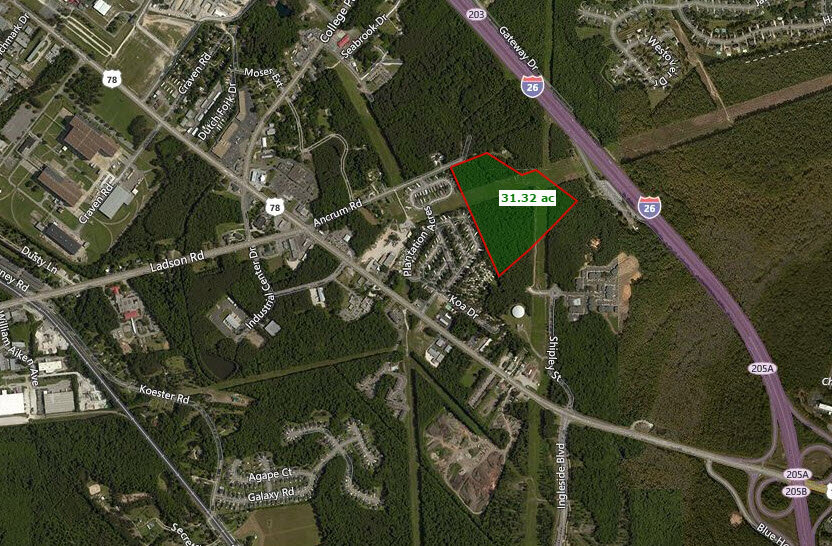 Land For Sale Ladson, SC 29456
