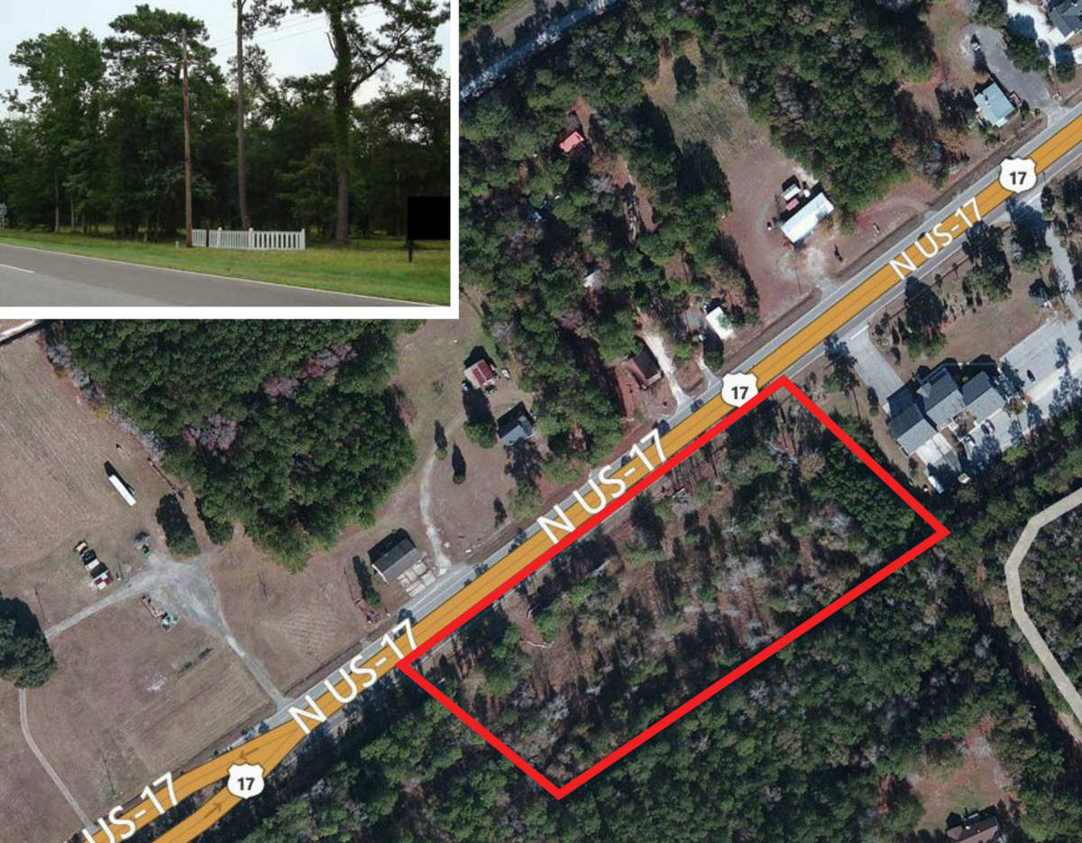 Commercial Land Mcclellanville, SC 29458