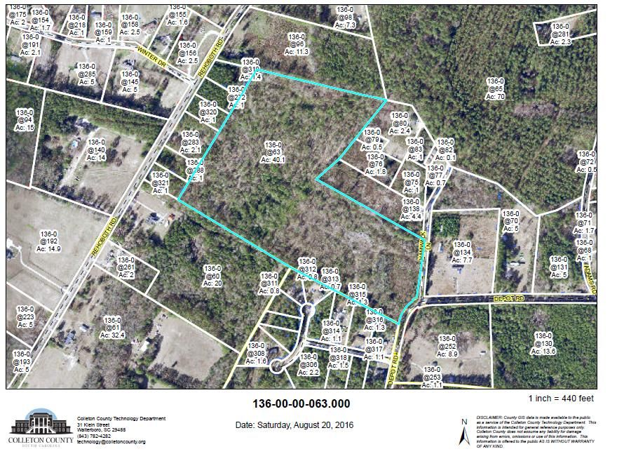 0  Depot Rd 4.143 Acres Cottageville, SC 29435