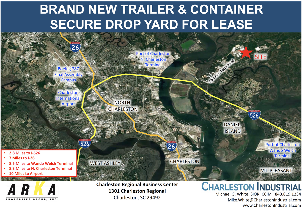 & Container - Secure Drop Yard Charleston, SC 29492