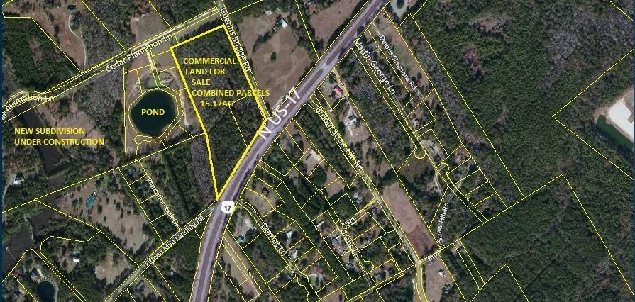 Planned Development Land For Sale! Awendaw, SC 29429