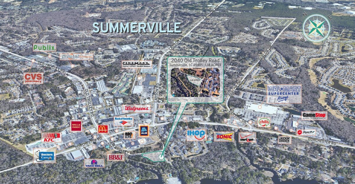 2040 Old Trolley Rd Summerville, SC 29485