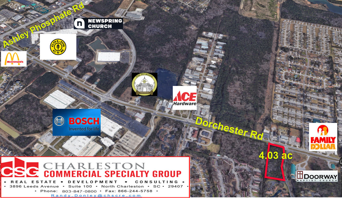 0 Dorchester Rd North Charleston, SC 29418
